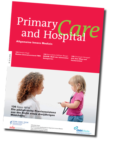 Zeitschriftenumschlag Primary and Hospital Care